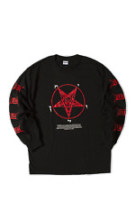 FUCT CULT AWARENESS LONG SLEEVE SHIRT BLACK LARGE L FTP SUPREME FCKING AWESOME