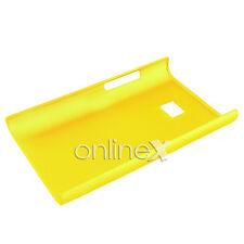 Carcasa para LG OPTIMUS L3 E400 Rígida Color AMARILLO a587