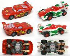 2011 Mattel TYCO CARS 440-X2 Slot Car Lightning MCQUEEN and Francesco BERNOULLI