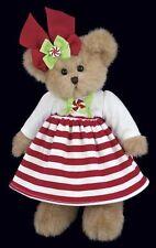 """10"""" CANDY*Bearington Teddy Bear**NEW 2013*NWT*Christmas*Holiday*Peppermint*"""