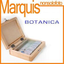 Set di 25 vetrini preparati BOTANICA 2  32M803 geoptik foto microscopia Marquis