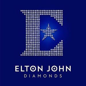 ELTON JOHN DIAMONDS DOUBLE VINYL LP SET (GREATEST HITS/BEST OF) - ROCKETMAN
