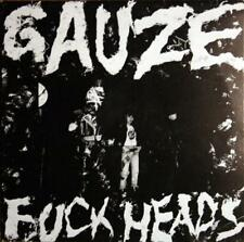 GAUZE - FUCKHEADS LP (1985) + INSERT / FUCK HEADS / LIMITED REPRESS / JAPAN-PUNK