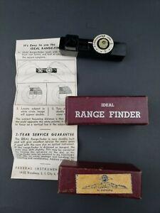 Ideal Range Finder Camera Rangefinder w/Original Box & Instructions