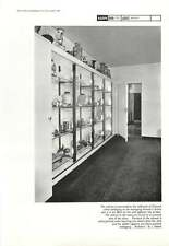 1961 Cabinet To Accommodate Oriental China Collection Villiers House Bl Adams