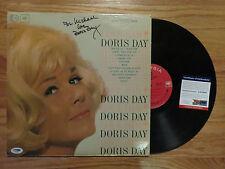 DORIS DAY signed LOVE HIM! 1963 Record / Album PSA AA22667 Inscribed For Michael
