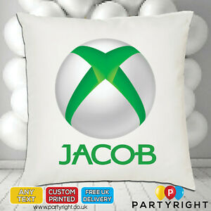 Personalised Xbox Gamers Cushion Cover • Any Name • Great Gift (CC7)