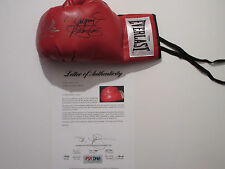 MANNY PACQUIAO TIMOTHY BRADLEY SIGNED EVERLAST BOXING GLOVE PSA/DNA LOA AB01617
