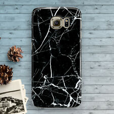 Marble Black Granite White Galaxy S7 S3 S4 S5 S6 S6 Edge,S6 Edge+ S7 edge Case