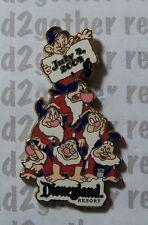 Disney Pin Dlr 4th of July 2004 Seven Dwarfs