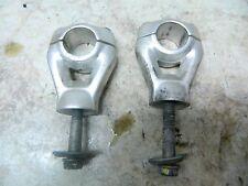 07 BMW G650 X G 650 Cross X Country handle bar handlebar mount clamps