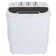 Portable Compact Twin Tub Wash Machine Washing&Spin Cycle 13Lbs Top Load Washer