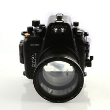 Meikon 60m 195ft Waterproof Diving Underwater Housing Case For Nikon D750 Camera