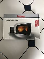 Hama 7'' Digital Photo Frame, Power Saving, SDHC, Remote Control
