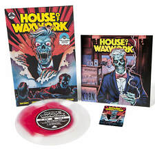 House Of Waxwork Issue 2 Comic & Vinyl - Nowhere Wolf Blood Puddle New & Sealed