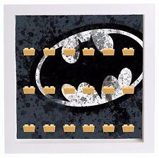 Display Case Picture Frame for Lego DC Comics Batman minifigures figures 25cm