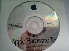 APPLE MAC HARDWARE TEST CD Ibook / SW version 1.2/ D691-3095-A /German/