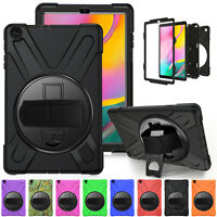 """For Samsung Galaxy Tab A 10.1"""" SM-T510 T515 Shockproof Hybrid Rugged Case Cover"""