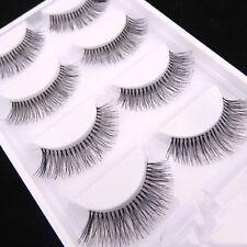 5 Pairs Fashion Sparse Cross Eye Lashes Extension Makeup Long False Eyelashes