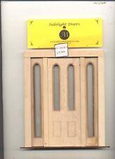 Door - Double Exterior - 2314SL1 dollhouse miniature 1:12 scale USA Made