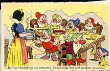 CP Walt Disney - Blanche-Neige et les sept nains - N° 14