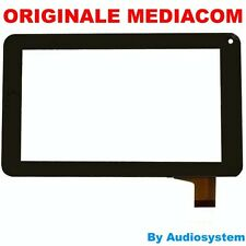 TOUCH SCREEN ORIGINALE VETRO PER MEDIACOM 720GO SMARTPAD M-MP720GO NERO DISPLAY