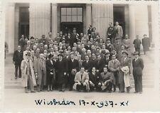 * GERMANY - Wiesbaden - Universität 1937 Photo postcard H.Espert