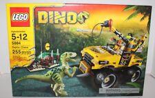 LEGO DINO RAPTOR CHASE #5884 255 PIECES CONSTRUCTION SET 2012 RETIRED MIB