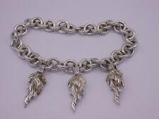 Opulentes Zarah Lea Lamotte Design Collier Silber 935 punziert 0,3ct Brillant