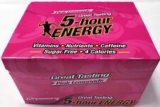 5 Hour Energy Pink Lemonade12 Count Box 1.93 Oz Shots