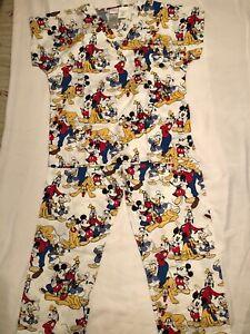 NWOT Kids Disney Scrubs - Large