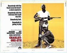 CHARLEY ONE EYE half sheet movie poster 22x28 RICHARD ROUNDTREE BLAXPLOITATION