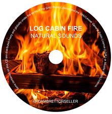 Natural Sounds - Log Cabin Fire CD - Burning Roaring Crackling Camp - HQ Audio