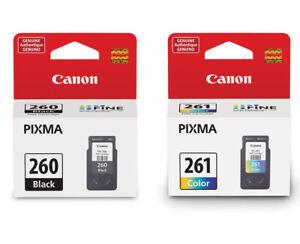 Genuine Canon PG260 CL261 black color ink 260 261 for PIXMA TR7020 TS6420 TS5320