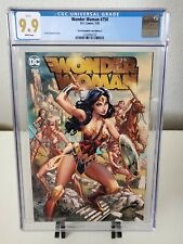 Wonder Woman #750 J Scott Campbell Exclusive Cover A Variant CGC 9.9 MINT
