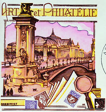 Yt  1835 A ART ET PHILATELIE PARIS   FRANCE  FDC  ENVELOPPE PREMIER JOUR