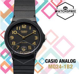 Casio Women's Classic Analog Watch MQ24-1B2