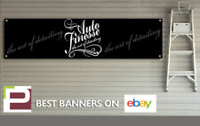 Auto Finesse Detailing Polish / Wax Banner for Workshop, Garage, Office