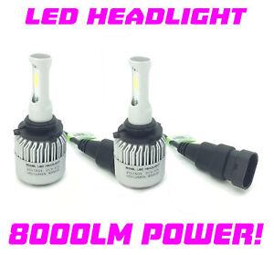 HB4 9006 COB LED Headlight Bulbs Kit 8000L Canbus 100W For Toyota Supra 90-97