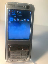 Nokia N73 - Silver (Unlocked) Mobile Phone - Fine Crack To the Screen