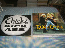 DIXIE CHICKS-(kick ass)-1 POSTER FLAT-2 SIDED-12X12-NMINT-RARE
