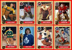1960s 1970s 1980s 1990s Retro NHL Custom Made Hockey Cards U-Pick THICK (Set 1)