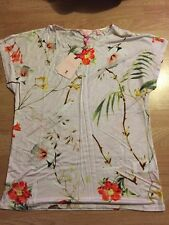 Ted Baker Botanical Bloom Floral Top Tee T-shirt BNWT ❤️ CEKEK SIZE 2 10/12 SALE