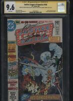 Justice League of America #193 CGC 9.6 3x SS George Perez GERRY CONWAY & Beatty