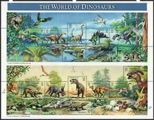 Scott 3136 World Of Dinosaurs Sheet (15) 32¢ MNH