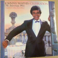 vinyl LP JOHNNY MATHIS celebration - the anniversary album, 1981, cbs 10028