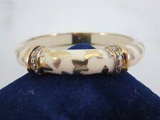 Angelique de Paris Farfalle Bracelet Sterling Silver Butterfly White Topaz $570
