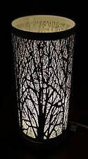 LOOK Vintage ~ ALBERO BIANCO scena Touch Pad Lampada da tavolo-NUOVO