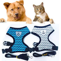 Mesh Padded Soft Puppy Pet Dog Harness Breathable Comfortable Safety Chest Strap