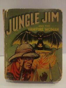1937 Big Little Book JUNGLE JIM & VAMPIRE WOMAN By ALEX (Flash Gordon) RAYMOND